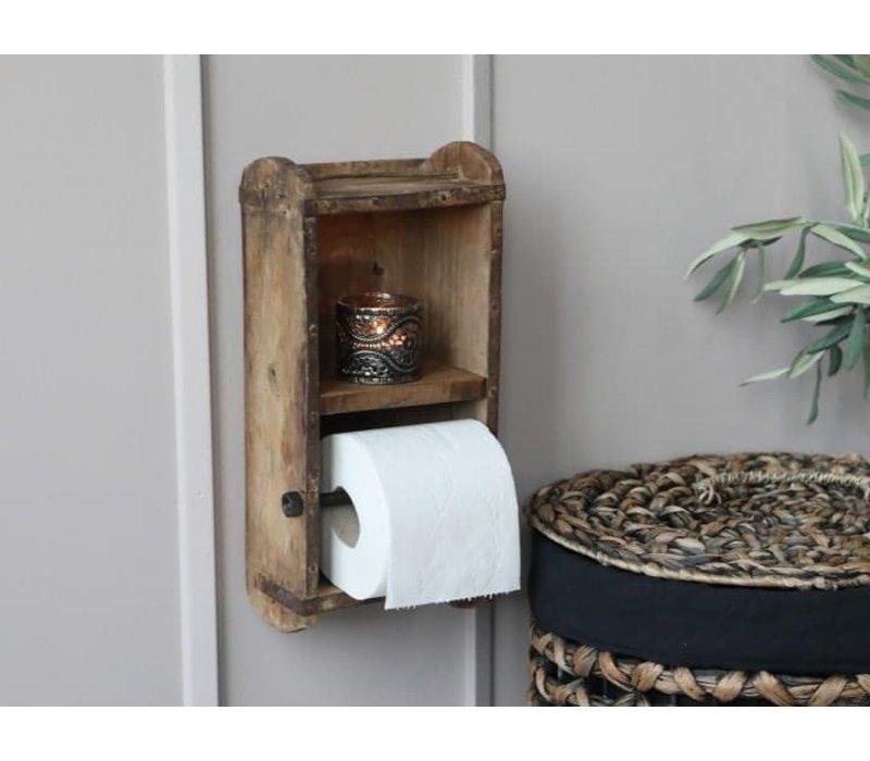 Steenmal wc-rolhouder 30 cm