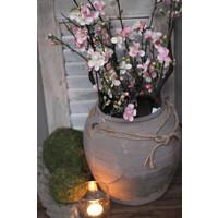 Zijden bloesem tak Pink 73cm