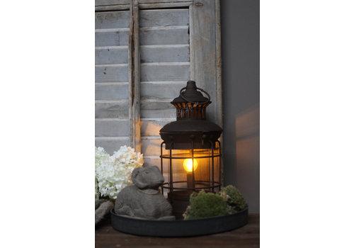 Roestige LED lamp Elly 29 cm