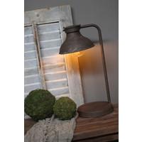 Sobere roestige LED lamp Bowi 44 cm