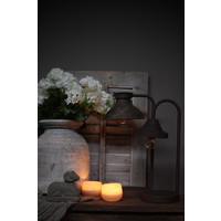 Roestige LED booglamp Yody 41 cm