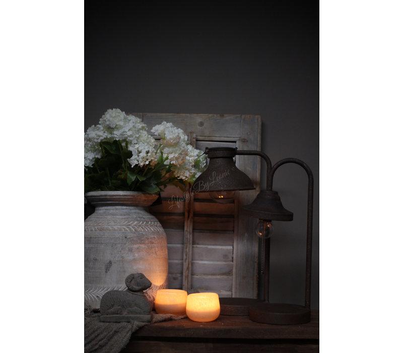 Roestige Led boog- lamp Yody 41cm