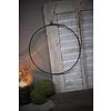 Metalen krans ring 30 cm
