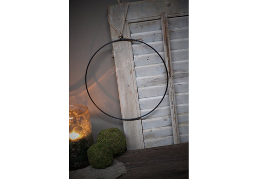 Metalen krans ring 30cm