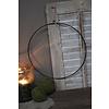 Metalen krans ring 35 cm