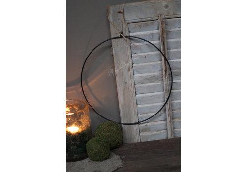 Metalen krans ring 35cm