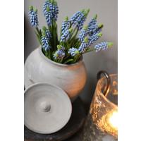 Bundel namaak Blauwe druifjes 32 cm