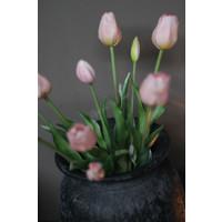 Bos namaak tulpen Light pink