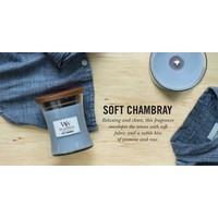 WoodWick Soft chambray large
