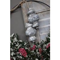Klos / ornament greywash  15cm