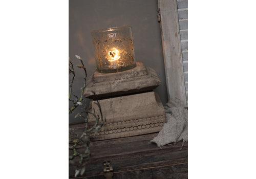 Grote authentieke oude houten poer