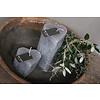 Brynxz Brynxz hart kaars lichtgrijs 6 cm