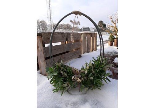 Opgemaakt staand ei-frame Voorjaar 40 cm