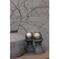 Stenen grijs baluster voetje