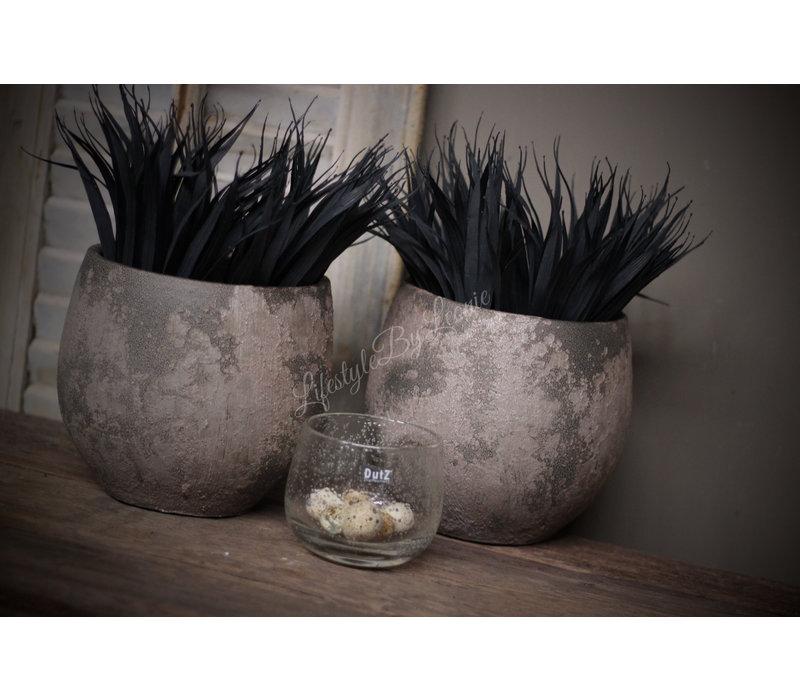 Namaak bosje Grass black 31 cm