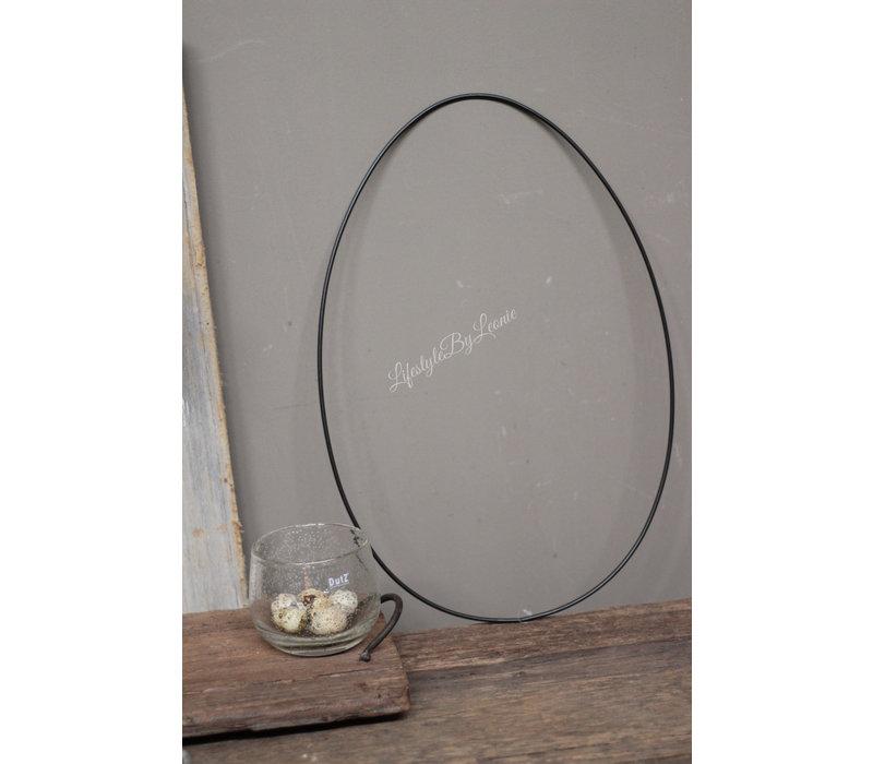Metalen frame EGG 47 cm