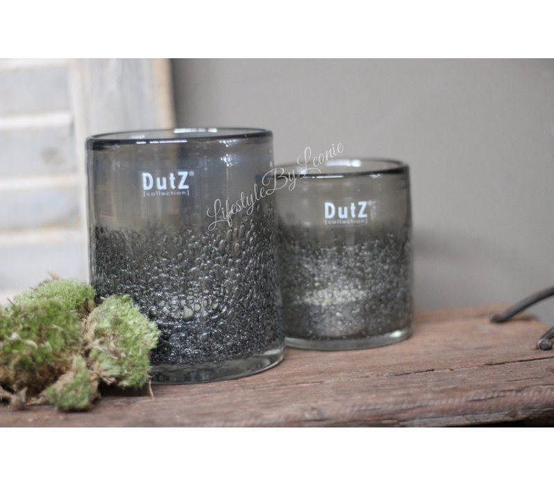 DUTZ cilinder bubbels Old grey 10 cm