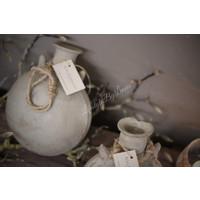 Aura Peeperkorn grijs stenen olie hang kruik