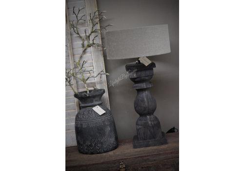 Aura Peeperkorn cilinder lampenkap klei 35 cm