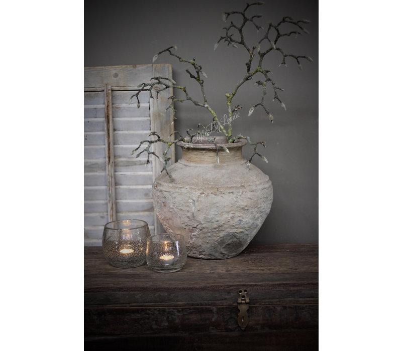 Aura Peeperkorn authentieke stenen waterpot - maat M