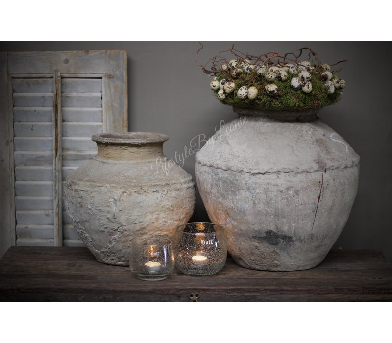 Aura Peeperkorn authentieke stenen waterpot M