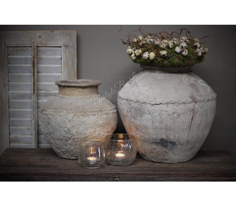 Aura Peeperkorn authentieke stenen waterpot - maat L