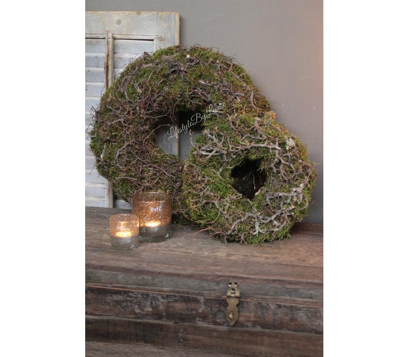 Krans Bonsai en mos 45 cm