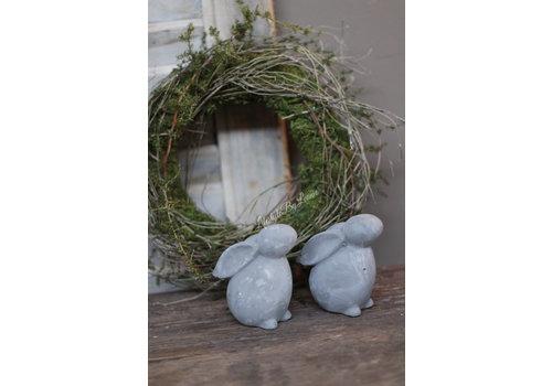 Betonnen konijntje