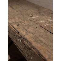 Oude houten Rail way wandplank 100 cm