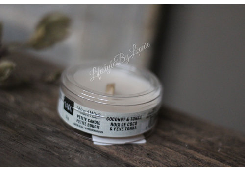 WoodWick WoodWick Coconut & tonka petite candle