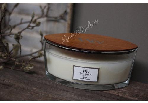 WoodWick WoodWick Linen hearthwick flame