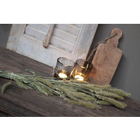 Oud houten amuse plankje aan touw