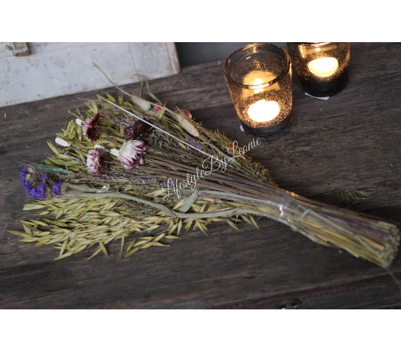 Boeket gedroogde bloemen Janet 45 cm