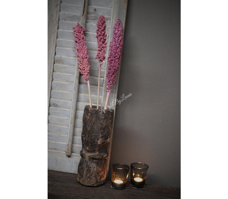 Bos gedroogde Cornus dark pink
