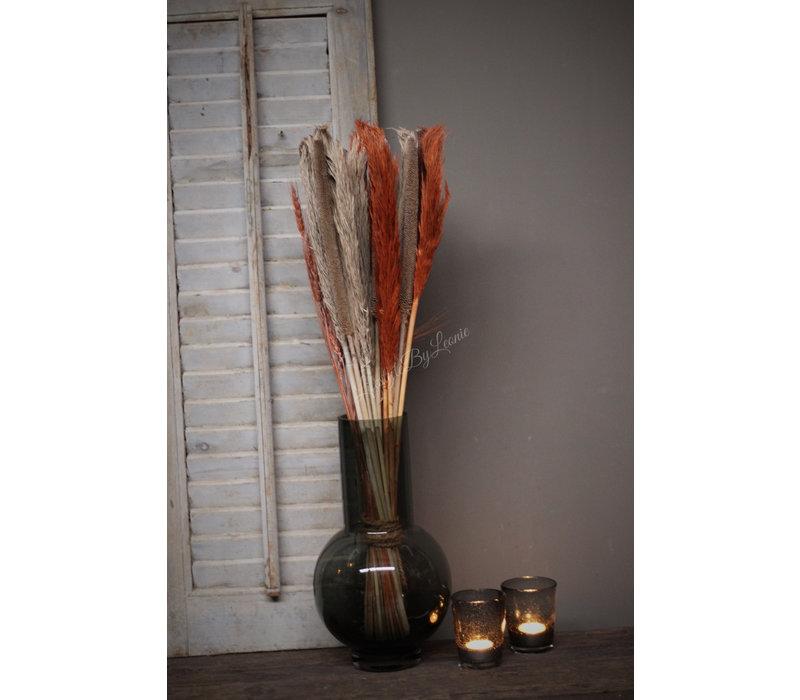 Gedroogde bloemen boeket Annie 75 cm