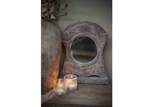 Staande ossenoog spiegel Oeil du boeuf 45 cm