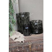 DUTZ cilinder windlicht Black panter 23 cm