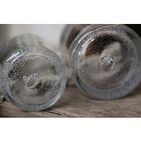 DUTZ cilinder windlicht helder bubbels 7 cm