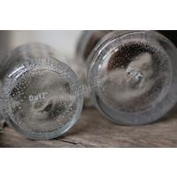 DUTZ cilinder windlicht helder bubbels 10 cm