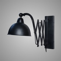 Brynxz muurlamp Harmonica black 53 cm