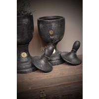 Brynxz ornament / urn Industrial black 38 cm