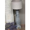 Brynxz Brynxz grote stenen baluster lampvoet 42 cm