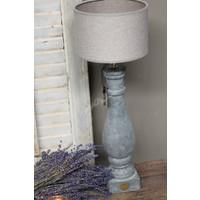 Brynxz grote stenen baluster lampvoet 42 cm
