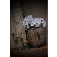 Zijden Hortensia tak lavendel 48 cm
