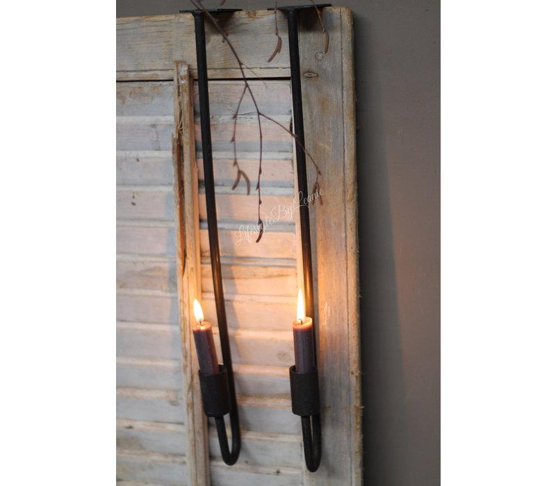 Kast hangkandelaar dinerkaars 50 cm