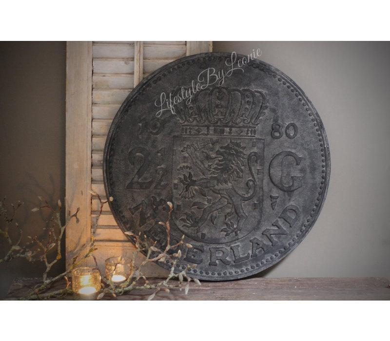 Wanddecoratie Rijksdaalder black wash 60 cm