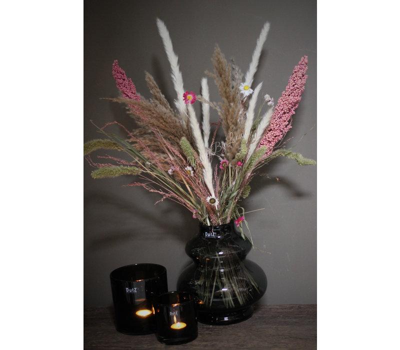 Droogbloemen boeket Pink flora