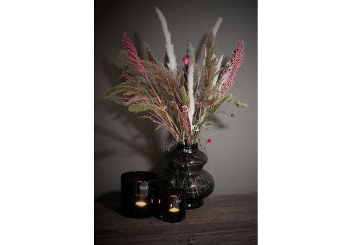 Droogbloemen boeket 'Pink flora'