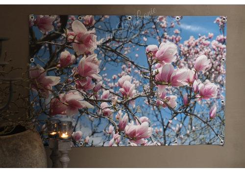Tuinposter Magnolia boom 120cm