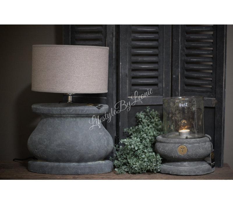 Brynxz Majestic ovale stenen lampvoet 30 cm